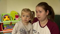 Belfast mum warns of blind cord danger
