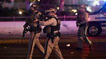 Moment police burst into gunman's room