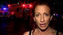 「撃たれた男性が『助けて』と」 ベガス乱射、目撃者語る