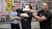 Cumbrian wrestler clinches US training role