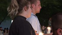 Candlelight vigil for Vegas victims