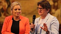NI leaders clash at Tory conference