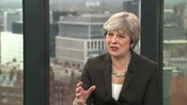 In full: Theresa May speaks to Laura Kuenssberg