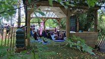 Outdoor classroom 'captivates' children