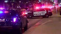 Áudio mostra momento em que polícia localiza autor de tiroteio em Las Vegas