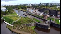 City's £50m flood defence scheme opens
