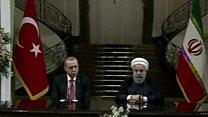 تاکید ایران و ترکیه بر محکومیت همه پرسی کردستان عراق