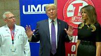 Trump praises Las Vegas medical team