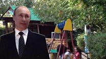 Putin in Armenia