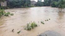 Masallının Boradigah kəndində sel suları