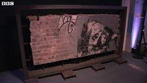 Banksy's Snorting Copper restored