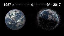 Сколько мусора оставил человек в космосе?