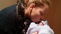 Mum 'cried for help' for premature son