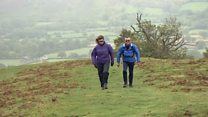 Fifty years of hiking up the Long Mynd