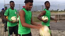 World Cup Qualifiers: Zambia dey boast Super Eagles dey train