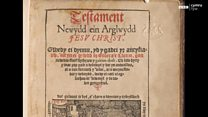 Mae 450 mlynedd ers cyfieithu'r Testament Newydd
