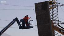 अमेरिका-मेक्सिकोतील सीमेवर भिंत बांधण्याचा वाद शिगेला