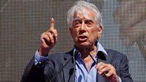 Nobel laureate calls for 'unity' in Spain