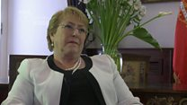 Bachelet: Being nice doesn't mean I'm weak