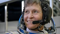Astronaut who was told she'd never go to space