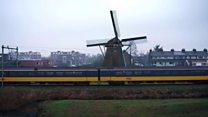 Rüzgarla çalışan trenler