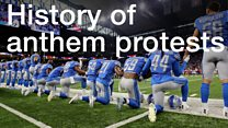 Anthem protests have history in the US
