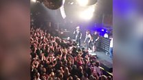 Violence breaks out at Rock City gig