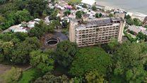 Inside Liberia's abandoned luxury hotel