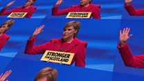 SNP year: Images of Nicola Sturgeon