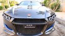 مصري يصنع سيارة رياضية بمواصفات عالمية