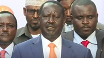 Kenya opposition leader pulls out of election re-run