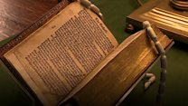 Watch: Tyndale Bible on display at St Paul's Cathedral