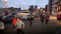 Joggers go on 'good deed' runs