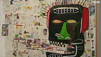 بیش از یک صد اثر از ژان میشل باسکیه در لندن به نمایش گذاشته شده است