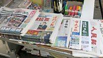 澳门中英文记者谈风灾后新闻自由