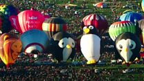 Hundreds of balloons join US fiesta