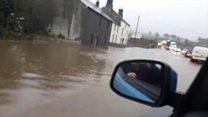 Torrential rain sees flooding hit Cumbria