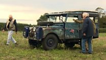 Marooned Land Rover rescued and fixed