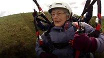 Daredevil 85-year-old raises thousands for charity