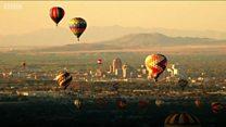 Крупнейший в мире фестиваль воздушных шаров