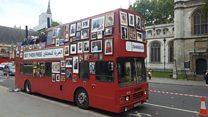 """كيف وصلت الحافلة """"دمشق"""" إلى لندن؟"""