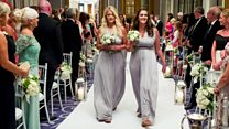 'My heart stopped at my sister's wedding'