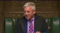 Speaker reveals cat's name