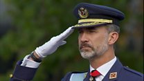 Spain royals mark national day