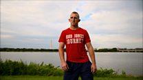 Watch: Veteran amputee begins 31 marathons in 31 days