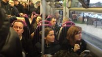 Safety concerns over overcrowded trains