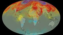 Nasa mission tracks carbon dioxide