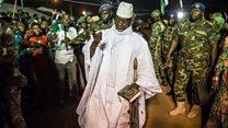 Sept officiers radiés de l'armée gambienne