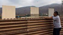Cómo son los prototipos del muro que Trump quiere construir entre Estados Unidos y México