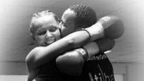 At home with UK's only 'boxing couple'